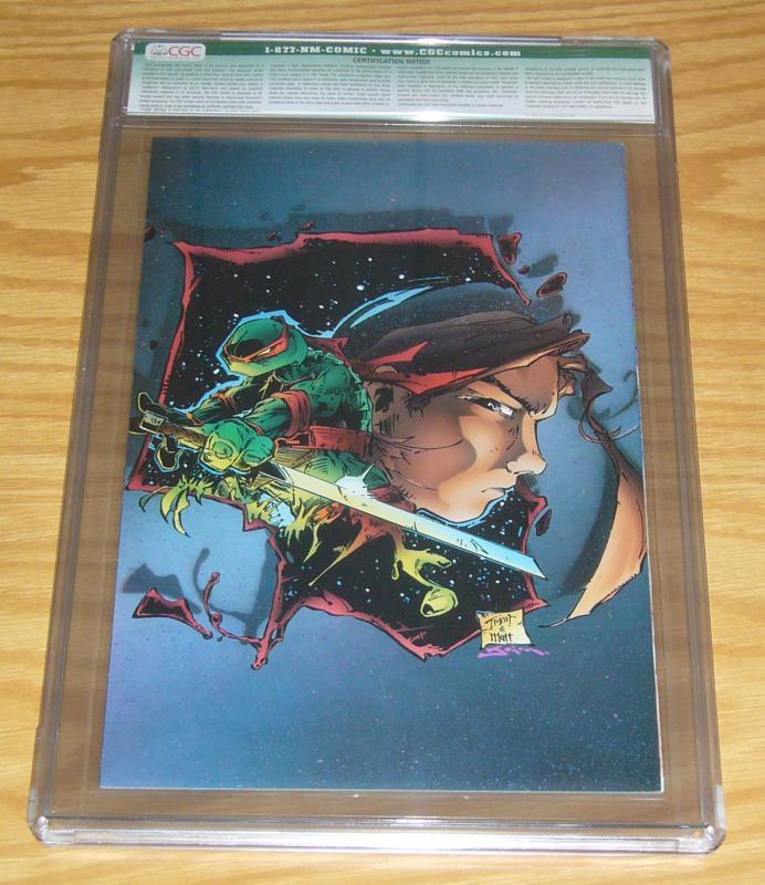 CreeD/Teenage Mutant Ninja Turtles #1 CGC 8.0 signed with COA (#14 of 700) tmnt