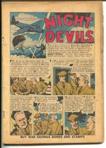 War Stories #6 1942-Dell-Night Devils-Ghost-Yankee Dillon-WWII stories-P