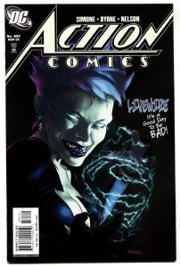 ACTION COMICS #835 comic book  1st DC CONT. LIVEWIRE-KEY ISSUE 2006
