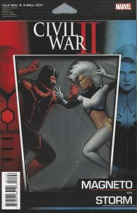 Civil War II X-men 001  Magneto vs Storm