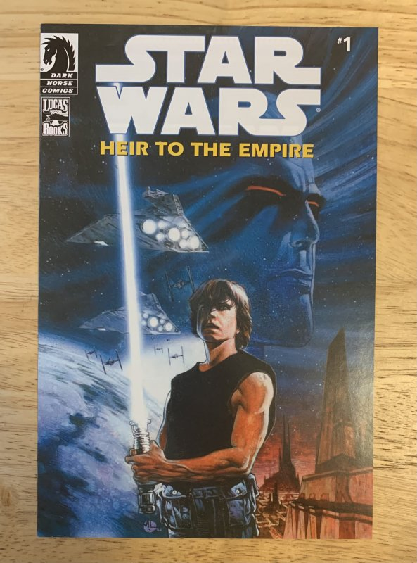 Star Wars: Heir to the Empire #1 (1995)(comic pack variant )