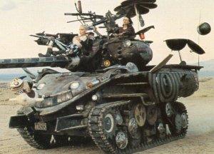 1995 Comic Images Tank Girl Promo Card