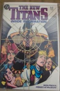 DC Comics NEW TITANS #57 SIGNED AUTOGRAPHED BY COMIC LEGEND BOB MCLEOD W/COA