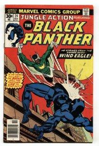 JUNGLE ACTION #24 1976 BLACK PANTHER - comic book