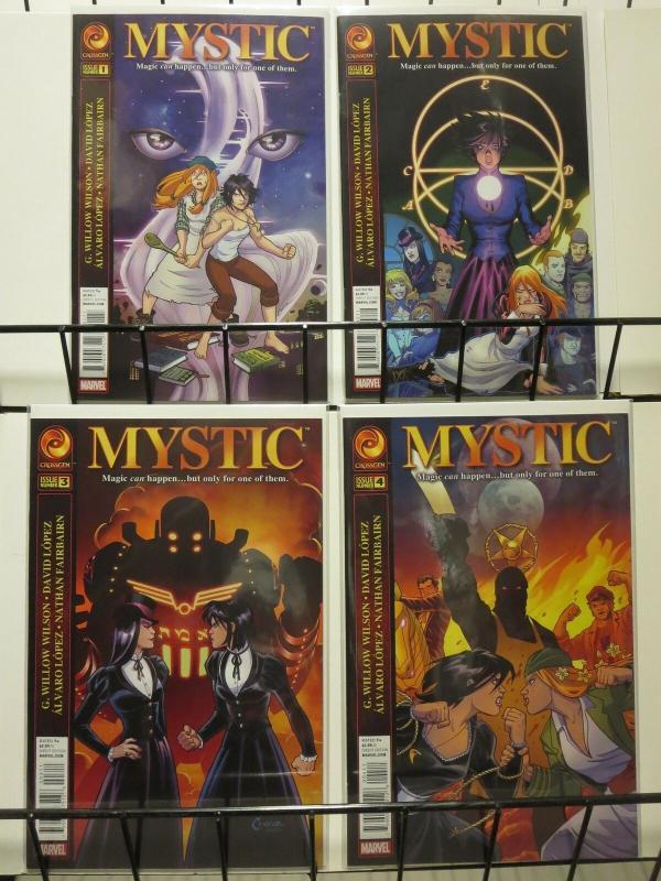 MYSTIC (2011 CROSSGEN) 1-4  Amanda Conner  COMPLETE!