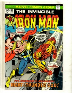 Iron Man # 66 VF/NM Marvel Comic Book Avengers Hulk Thor Captain America J462
