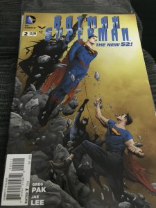 DC Batman Superman #2  The New 52 Mint