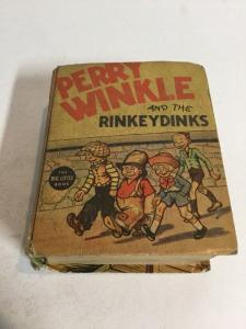 Perry Winkle And The Rinkeydinks Vg Very Good 4.0 Big Little Books 1199