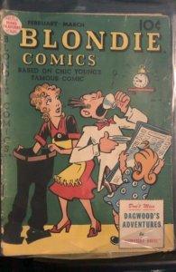 Blondie Comics #10