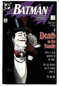 BATMAN #428 JOKER cover-comic book-1988 VF/NM
