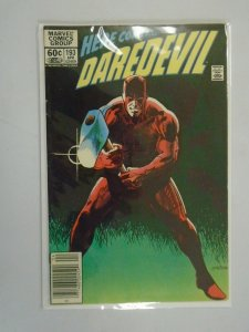 Daredevil #193 Newsstand edition 6.0 FN (1983 1st Series)