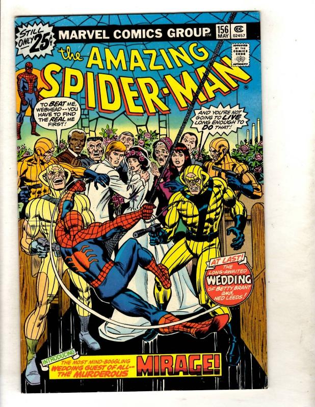 Amazing Spider-Man # 156 VF Marvel Comic Book Goblin Aunt May Mary Jane JF11