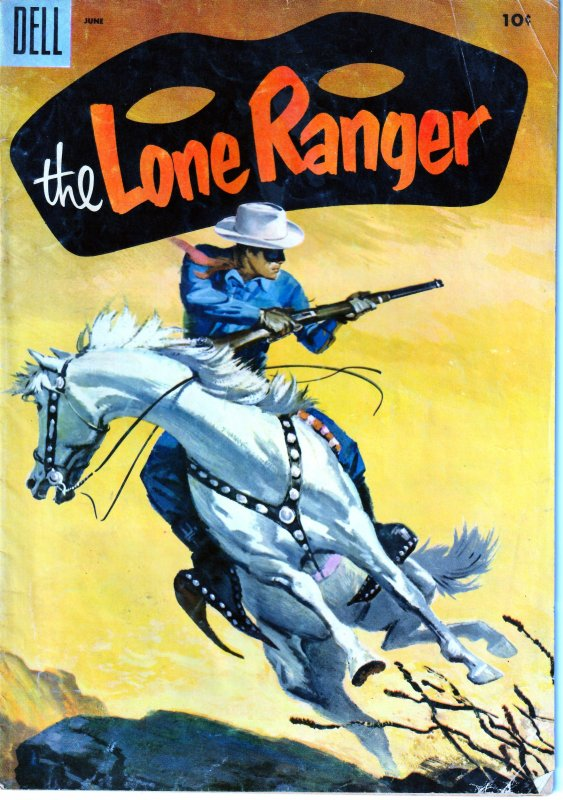 The Lone Ranger(Dell) # 84