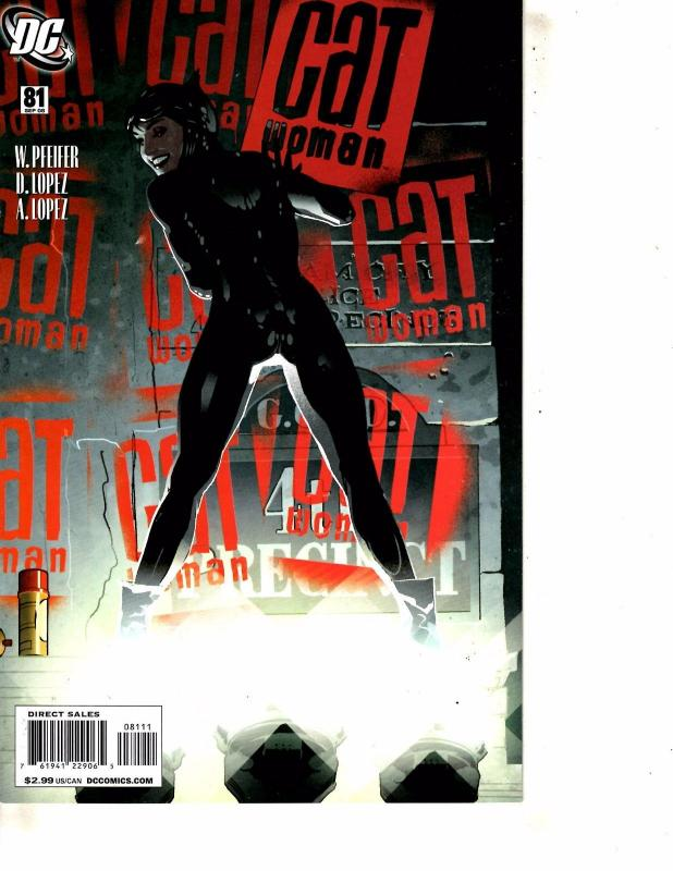 Catwoman # 81 NM DC Comic Book 1st Print Adam Hughes Cover Batman Batgirl J254