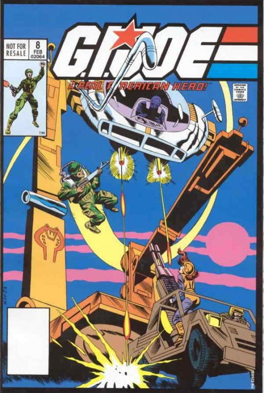 G.I. Joe, a Real American Hero #8 (3rd) FN; Marvel | save on shipping - details
