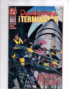 DC Comics Deathstroke the Terminator #19 Mike Zeck Marv Wolfman Cheshire
