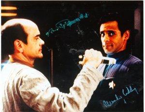 Alexander Siddig Autographed Star Trek Deep Space 9 pic