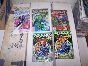 Aquaman #1 2 3 4 4  (1986, DC) ocean master king of the sea  mini series