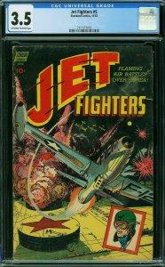 JET FIGHTERS #5 CGC 3.5 ** Alex Toth Artwork ** RARE ** STANDARD COMICS 11/1952