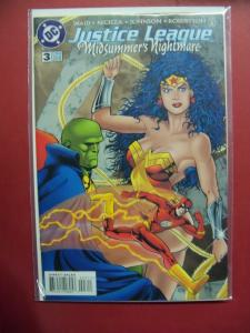 JUSTICE LEAGUE MIDSUMMER'S NIGHTMARE #3  VF/NM OR BETTER DC COMICS