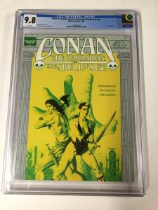Conan The Skull Of Set Cgc 9.8 White Pages Marvel Graphic Novel Nn White Pages
