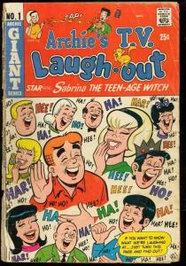 ARCHIE'S T.V. LAUGH OUT #1-SABRINA THE TEEN AGE WITCH G/VG