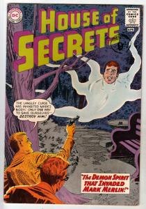 House of Secrets #59 (Apr-63) FN/VF Mid-High-Grade Mark Merlin