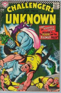Challengers of the Unknown 57 Sep 1967 VG+ (4.5)