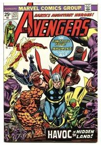 AVENGERS #127 1974-1st appearance Ultron 7- Fantastic Four- Thor NM-