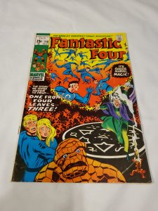 Fantastic Four 110 FNVF One From Four Leaves Three