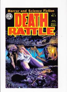 DEATH RATTLE #1, VF+, Richard Corben,1985, Rand Holmes, Horror, Sci-Fi