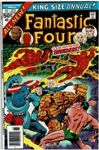 Fantastic Four, King Size #11, 5.0 or Better - Alternate Earth Invaders