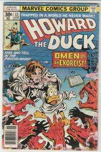 Howard the Duck #13 (Jun-77) VG/FN Mid-Grade Howard the Duck
