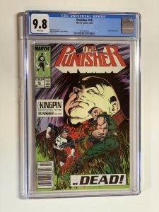 Punisher 16 Cgc 9.8 Rare Newsstand Edition Marvel Wp