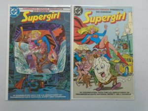 Supergirl Giveaway Honda Special set of 2 (1984+86)