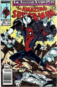 Amazing Spider-Man #322 Todd McFarlane Silver Sable Newsstand NM