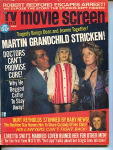 TV And Movie Screen-Dean Martin-Burt Reynolds-Jacqueline Bisset-Nov-1974
