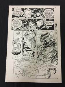 Captain Cosmos Page 28 Original Art Joe Stanton Nicola Cuti Space Opera