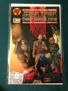 Star Trek Deep Space Nine #5 Malibu Comics