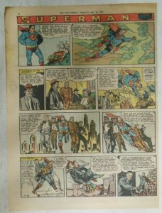 Superman Sunday Page #917 by Wayne Boring from 5/26/1957 Size ~11 x 15 inches