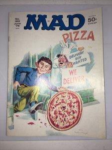 Mad Magazine June 1976 No. 183 Pizza Delivery