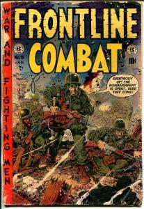 Frontline Combat #15 1954-EC-Wood-Evans-Davis-Severin-G/VG