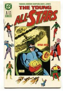Young All Stars #6 1987 1st appearance of Paula Brooks as Tigress
