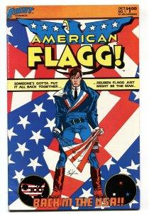 American Flagg #1 comic book 1983-Howard Chaykin-1st issue