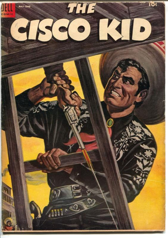 Cisco Kid 21 1954 Dell Painted Cover Robert Jenny Story Art