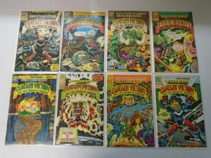 Pacific Comics Captain Victory and the Galactic Rangers (1981) Set 6.0/FN