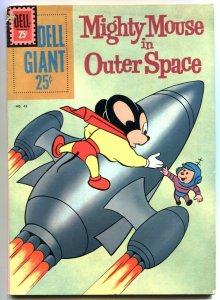 Might Mouse in Outer Space- Dell Giant #43 1961- VG