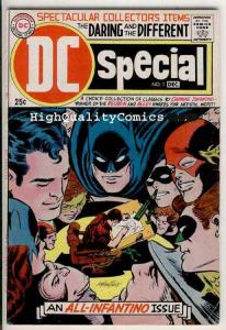DC SPECIAL #1, VG+, All Carmine Infantino issue, 1968, Batman, Flash