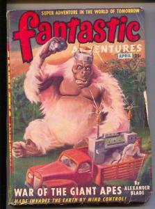 Fantastic Adventures-Pulp-4/1949-Alexander Blade-Mollie Claire