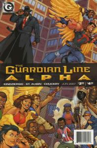 Guardian Line Alpha #1 VF/NM; UMI | save on shipping - details inside